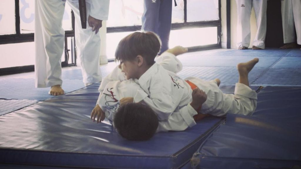 grappling clase tkd