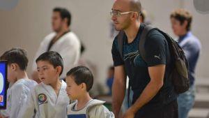 coach maestro de taekwondo