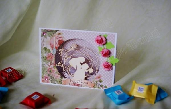 Namiotowa kartka ślubna – inspiracje, wzory