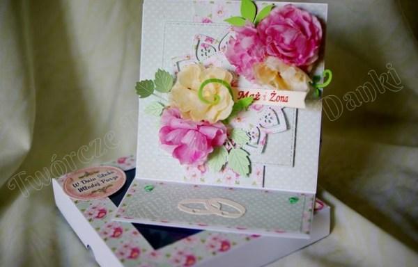 Sztalugowa kartka na ślub – wzory