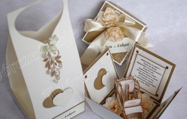 Ślubne boxy – wzory, inspiracje