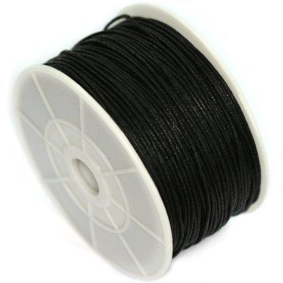 Sznurek bawełniany czarny 3 x ok. 20cm