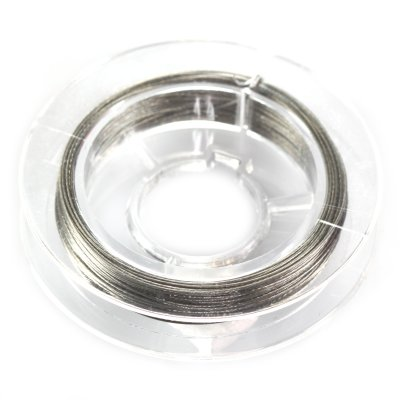 Linka stalowa kolor srebrny 0.45 mm 4x10cm