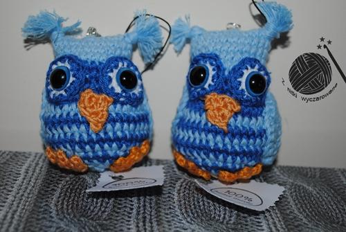 Największe marzenie Weroniki, dwie niebieskie sowy