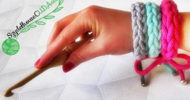 Szydełkowe Cudasie - szydełkowa biżuteria, początki z szydełkiem