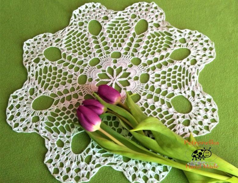 Moje początki z szydełkiem – Petronelka i jej prace