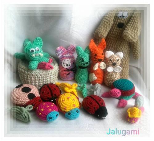 Jalugami - maskotki