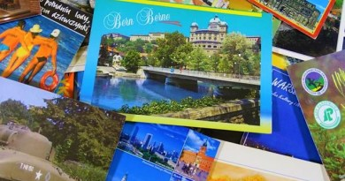 Moja kolekcja pocztówek, widokówki