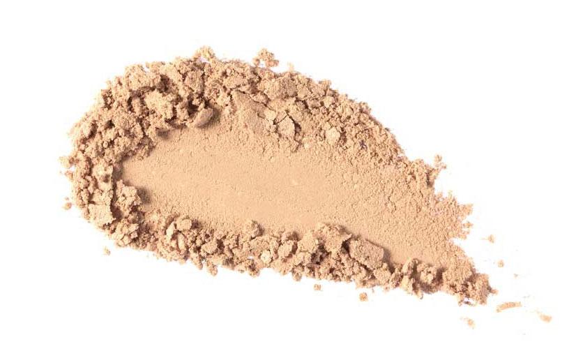 Naturalny produkt mineralny nie powinien zawierać  tlenochlorku bizmutu ( bismuth oxychloride )