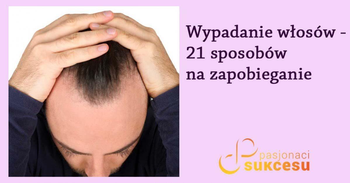 Wypadanie włosów – jak zapobiegać