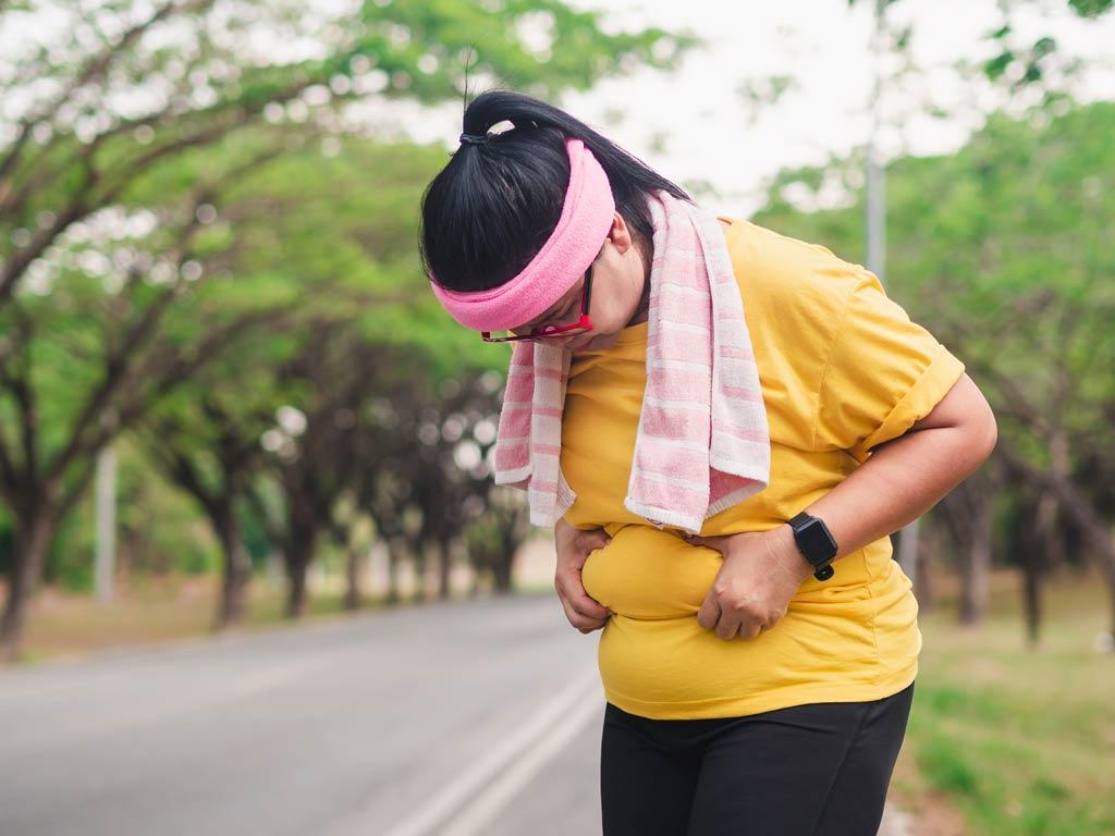brzuch bez oponki i trening cardio