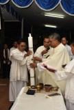 Misa Sabtu Vigili di kapel Kopassus