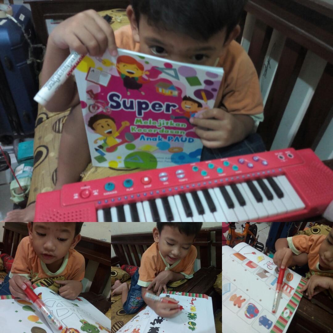 Super Melejitkan Kecerdasan Anak PAUD