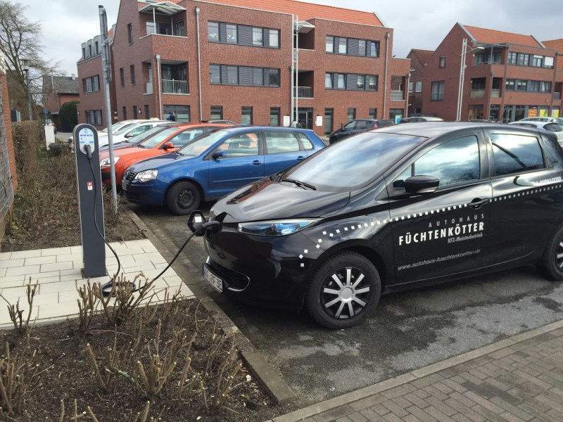 Renault Zoe Ladestation