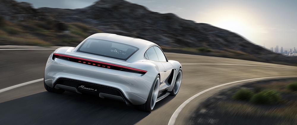 Deutsche Hoffnung im Kampf um die Spitze im Elektro-Segment: Porsche Mission-E