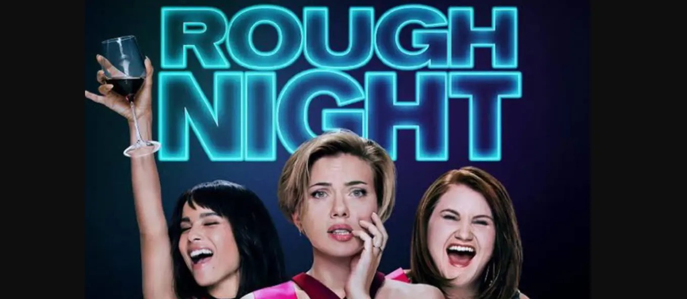 Rough Night 2017 - Movie poster crop