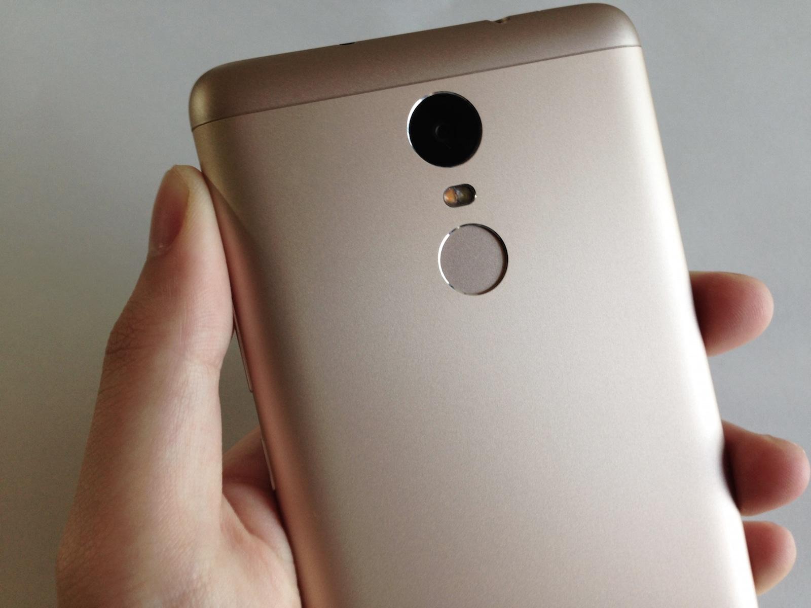 Xiaomi Redmi Note 3 Pro 指紋認証センサー