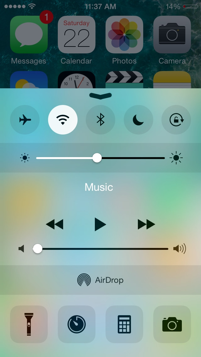 iOS 明るさ設定