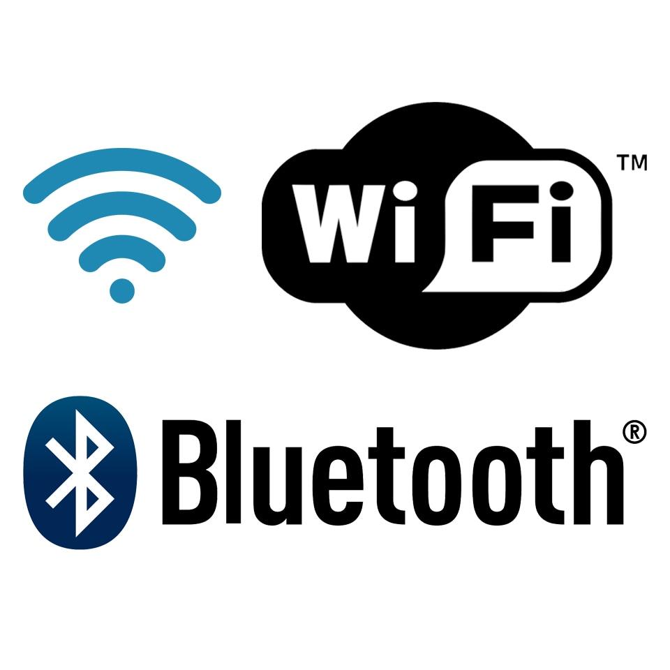 Wi-Fi- Bluetooth
