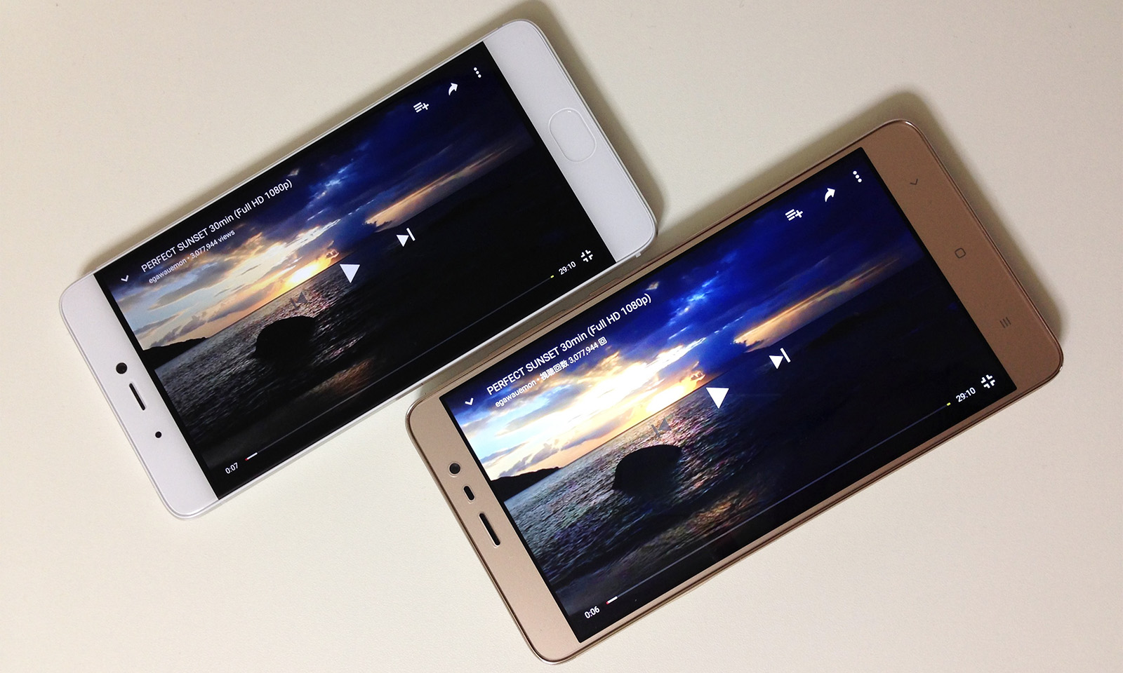 Xiaomi Mi5s バッテリー持ち 比較