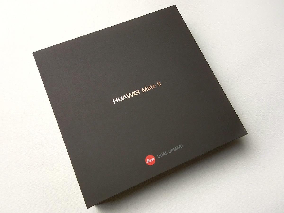 Huawei Mate 9 パッケージ