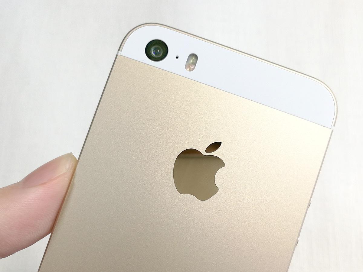 iPhone SE 背面カメラ