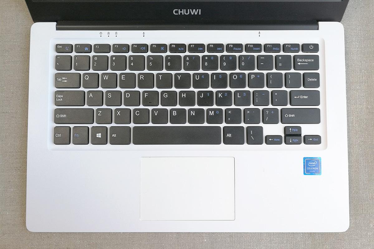 CHUWI LapBook 14.1 キーボード配置