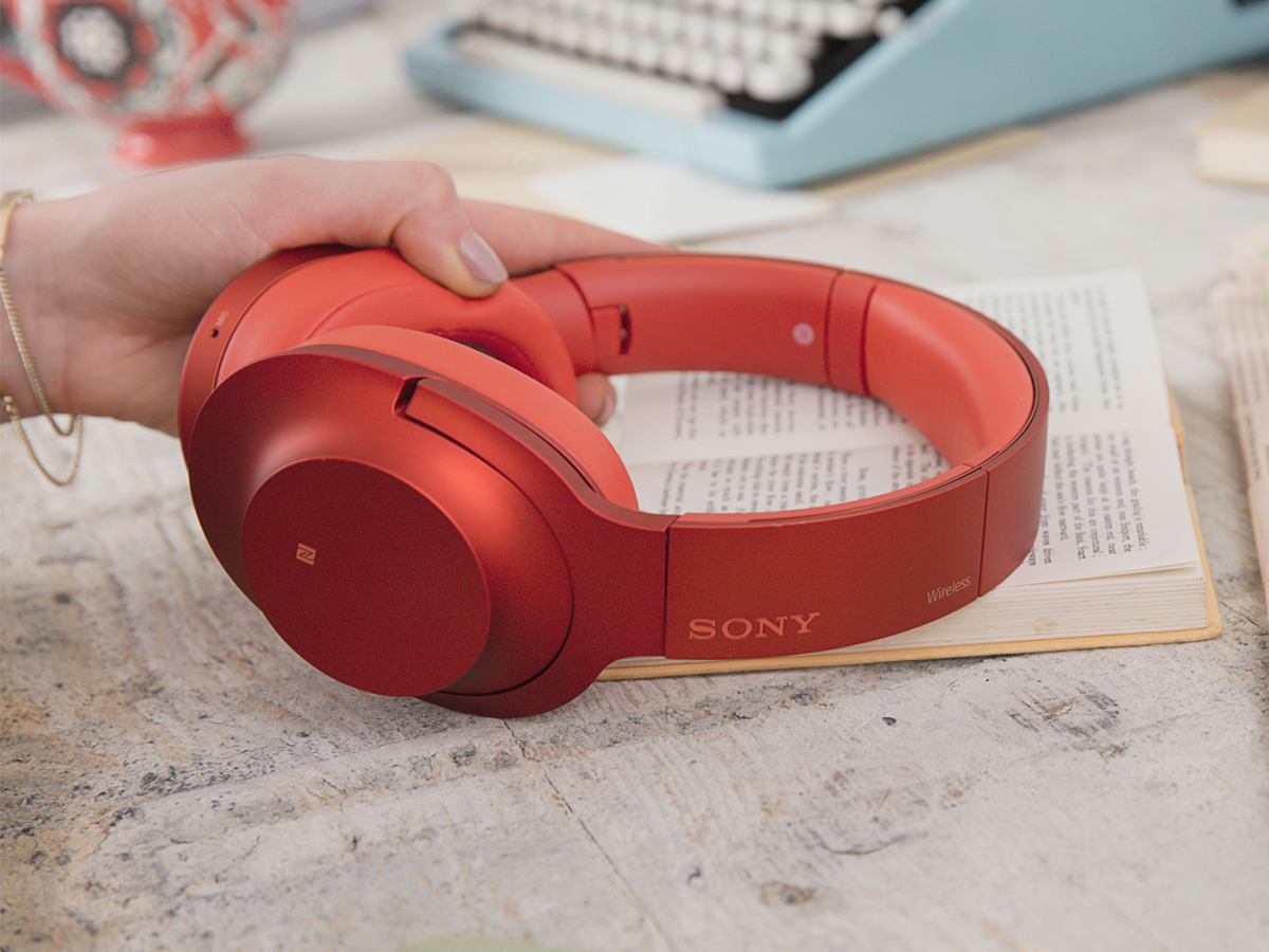SONY MDR-100ABN シナバーレッド