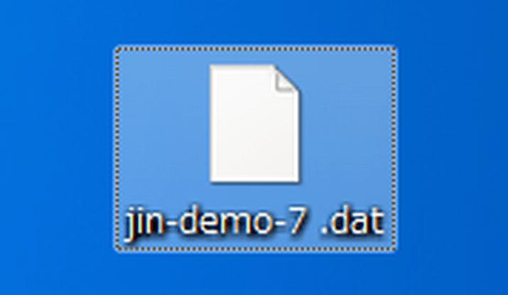 JIN着せ替えデザインインポート1