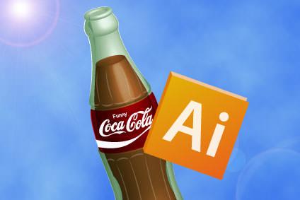 3D立体コカコーラ
