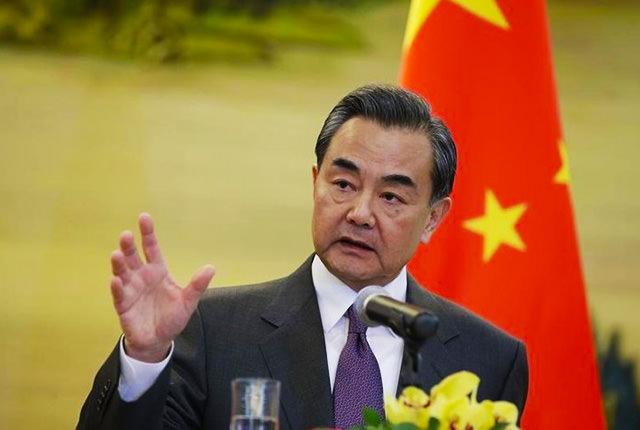 中国 王毅外相