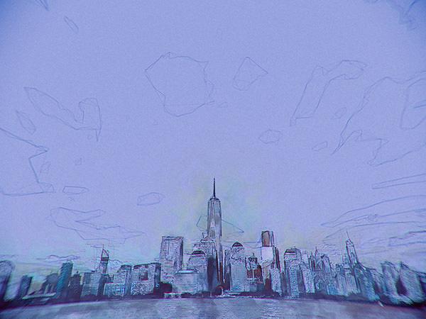 Sketch City Effect2 / スケッチされた街