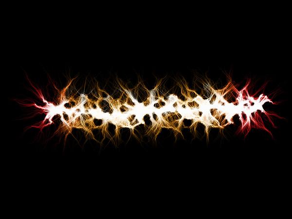 Lightning Purple Effect 5 / 稲妻-黄色