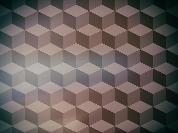 Cube Pattern Effect5 / キューブ パターン エフェクト5
