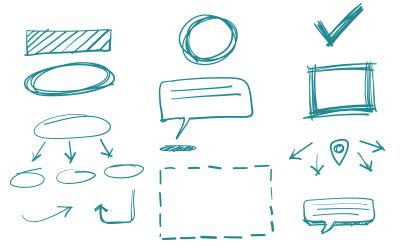 解説や説明の時に役立つ手書き風矢印(20)