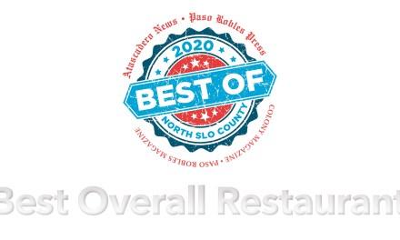Best of 2020 Winner: Best Overall Restaurant