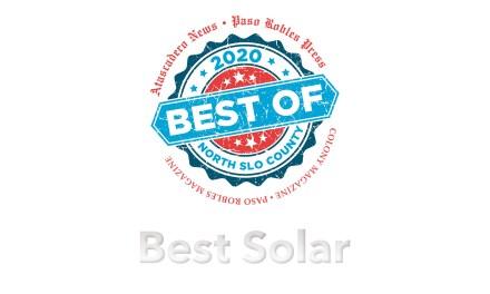 Best of 2020 Winner: Best Solar