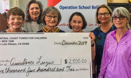Assistance League of San Luis Obispo Receives $2,500 Grant