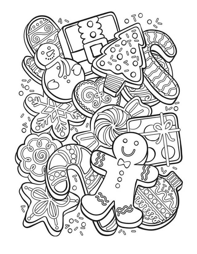 Kids Holiday Coloring Pages • Paso Robles Press