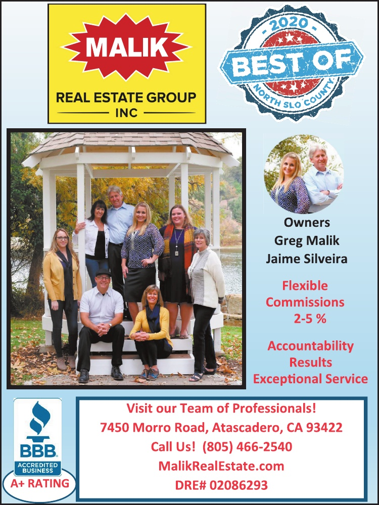 Best Real Estate Agent of North SLO County 2020