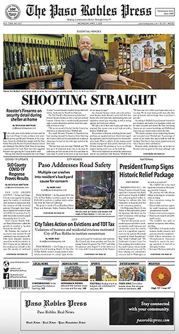 Paso Robles Press April 1