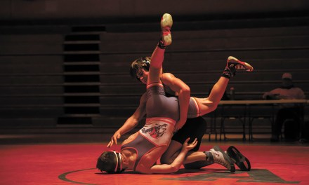 Bearcats Take Down Hounds in Dual