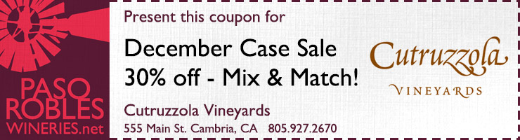 Cutruzzola December Case Sale Coupon