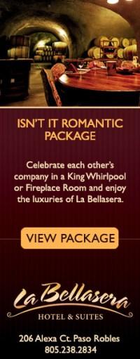 La Bellaserra Isn't it Romantic Package