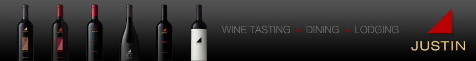Justin Winery Banner Ad