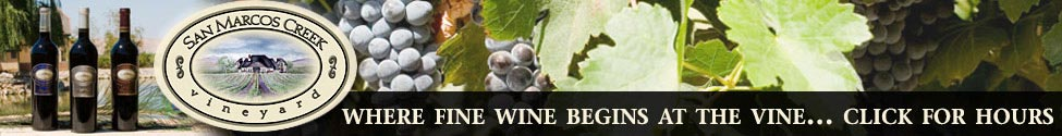 San Marcos Creek Vineyard Banner Ad