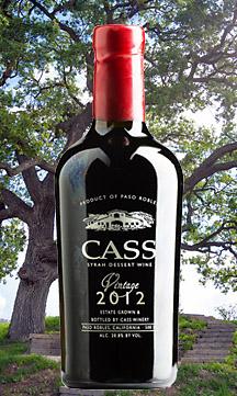 Cass Winery 2012 Dessert Wine