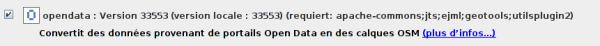 JOSM-plugin - Opendata