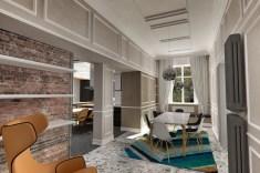 Apartment in Pescara dining area