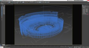 3dsmax - colosseo 1
